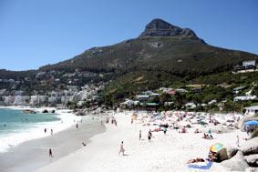 Città del Capo, la diversità delle sue spiagge